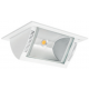 Foco Led rectangular empotrable y basculante alta luminosidad 35W mod. Swing Elecman